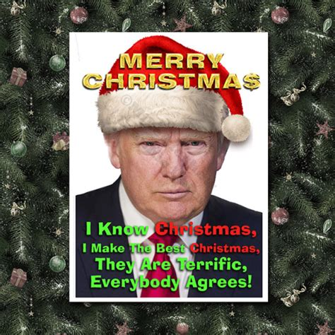 donald trump xmas message buster s blog merry christmas try to have one if you can