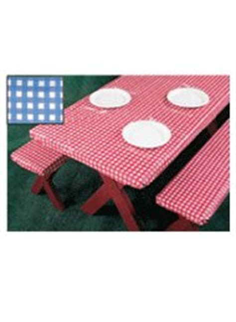 3 fitted picnic table bench covers