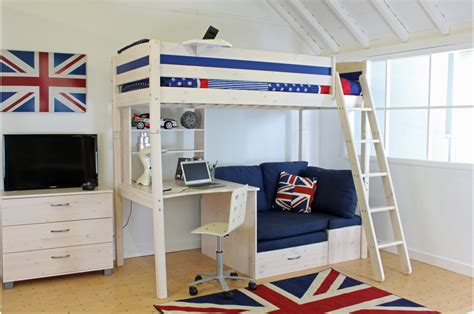 room best high sleeper bed idea bed with sofa chair
