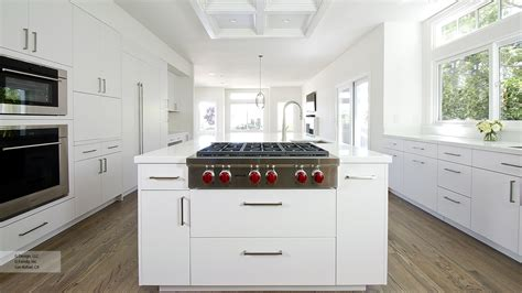 modern kitchen with white cabinets white kitchen with modern cabinets omega cabinetry