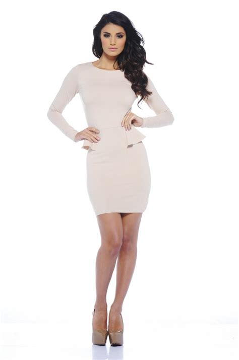 Sleeve Peplum Dress by Sleeve Peplum Dress Picture Collection Dressed Up