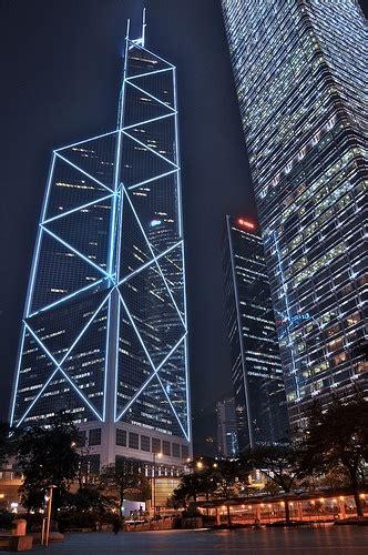 bank of hong kong china bank of china hong kong architecture