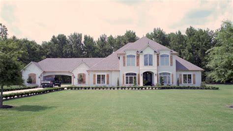 House Plans With Drive Through Garage by Marlow Manor Luxury Home Plan 055s 0043 House Plans And More