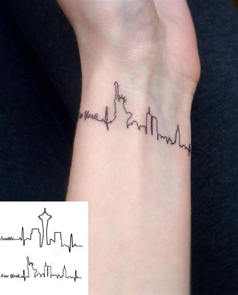 tattoo new york small waterproof temporary tattoo sticker seattle new york