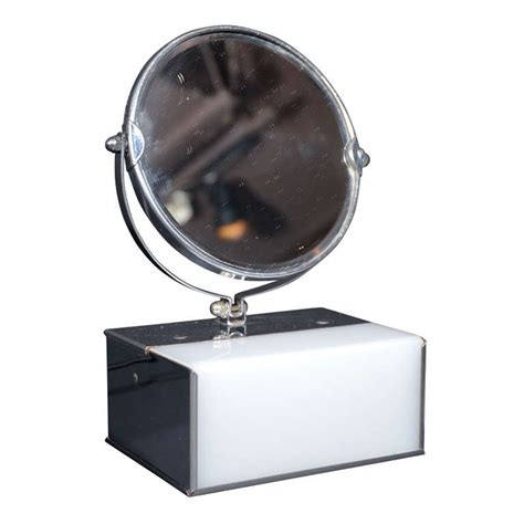 top 10 best magnifying mirrors illuminated with light art deco illuminated and magnifying vanity mirror at 1stdibs