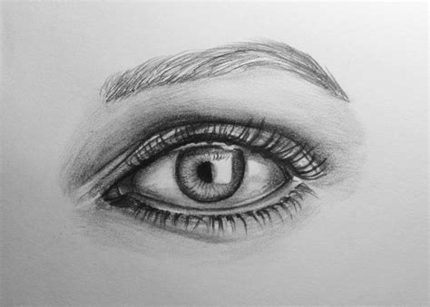 A Drawing Of An Eye by Artwork Drawing Of An Eye