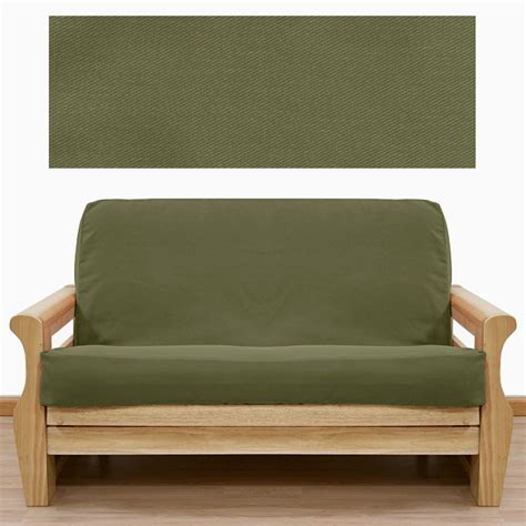 green futon cover 36 best images about going green green futon covers that
