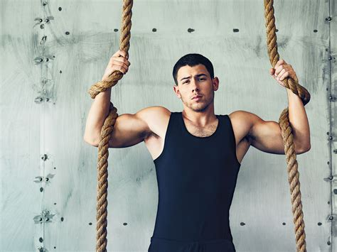 workout plan   jacked  nick jonas mens fitness
