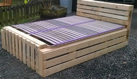 How Are Mattresses Recycled by Recycled Pallet Bed Frame Projects Recycled Things