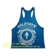 Baju Singlet Golds Big Blue Yellow singlet price harga in malaysia
