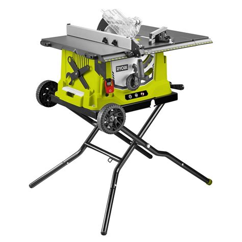 ryobi bench saw ryobi 1800w 254mm table saw bunnings warehouse