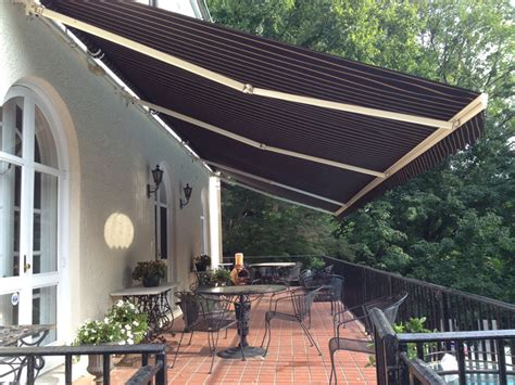 retractable awnings cincinnati residential fitzsimmons awnings serving louisville