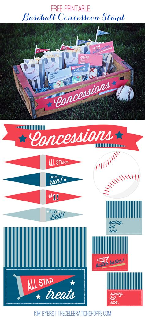 printable baseball party decorations free printable baseball party ideas kim byers