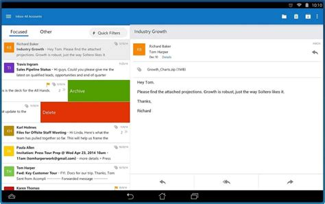outlook for android mobile grce acompli microsoft outlook pour ios et android le monde informatique