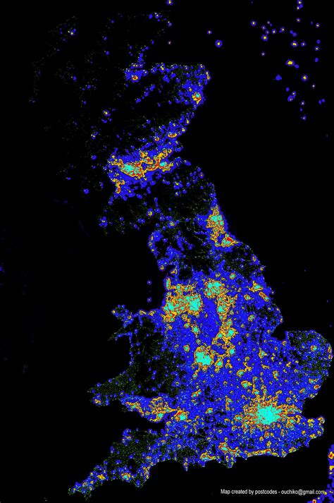 Light Map by Ordnance Survey Visualising Geodata Bringing Maps