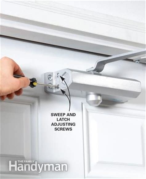 Adjusting A Door Closer by Door Closer Adjustment