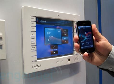 crestron s home automation iphone app demoed at cedia