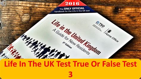 life in the uk life in the uk test true or false test 3 youtube