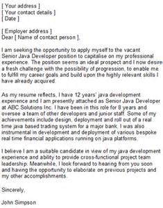 Business Programmer Cover Letter by Programmer Covering Letter Sle