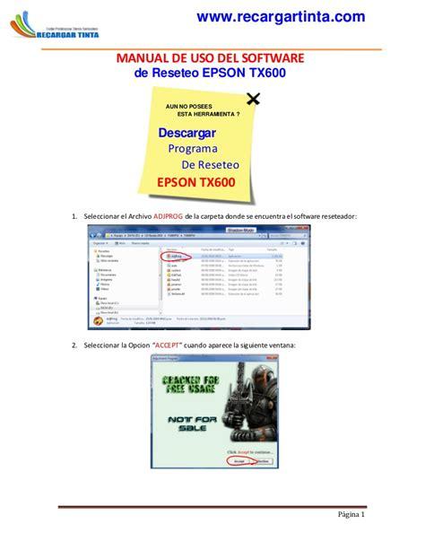 reset epson tx121x manual manual reset epson tx600