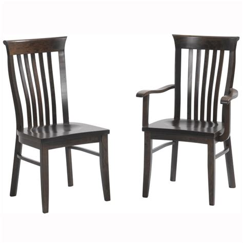 Clayton Chairs by Cabot Collection Home Wood Furniture