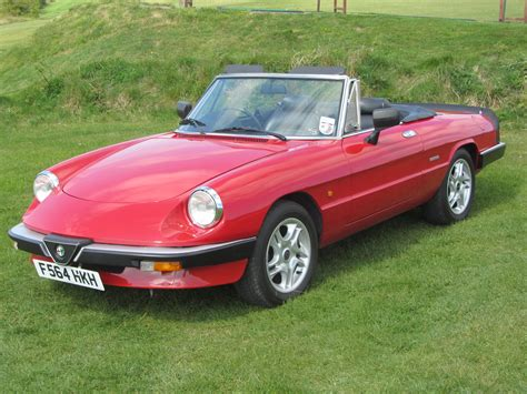 1989 Alfa Romeo Spider by Welcome To Sussex Sports Cars Sales Of Classic Cars By