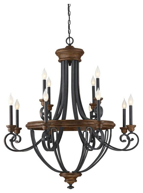 mediterranean chandelier savoy house wickham 12 light chandelier whiskey wood