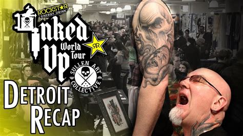 motor city tattoo expo inked up world tour detroit motor city expo recap