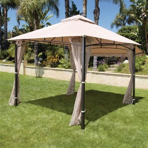 gazebo cover gazebo canopy replacement covers 10x10 home depot
