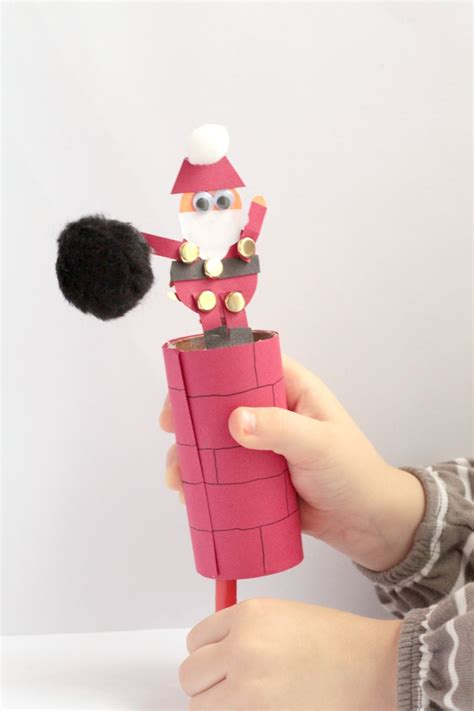 crafts for for santa crafts for for preschool kindergarten and beyond