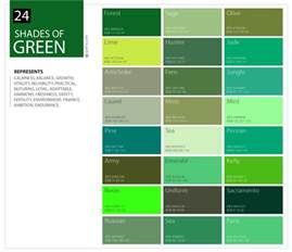 all green colors 24 shades of green color palette graf1x