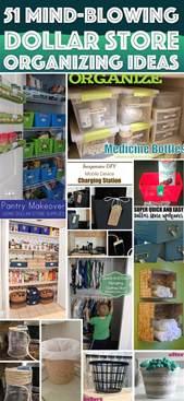 Simple Diy Kitchen Organizing Storage Ideas Decozilla 51 mind blowing dollar store organizing ideas to get your