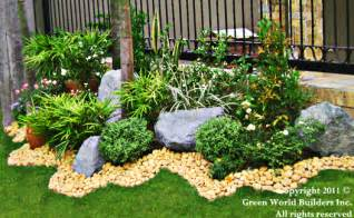 Home Garden Design In The Philippines Green World Builders Inc Philippines Landscaping Portfolio