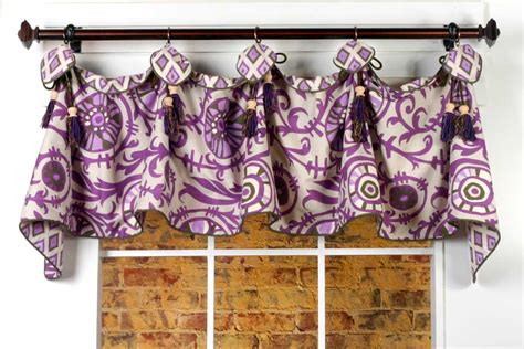 valance curtain patterns to sew haley curtain valance sewing pattern