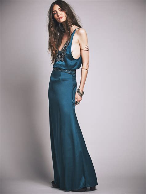 Dress Jaded free jaded gown in blue lyst