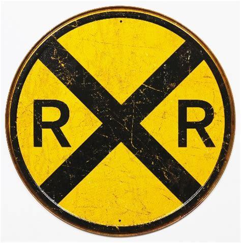 duck boat tours dayton ohio round railroad crossing tin metal signs street sign train