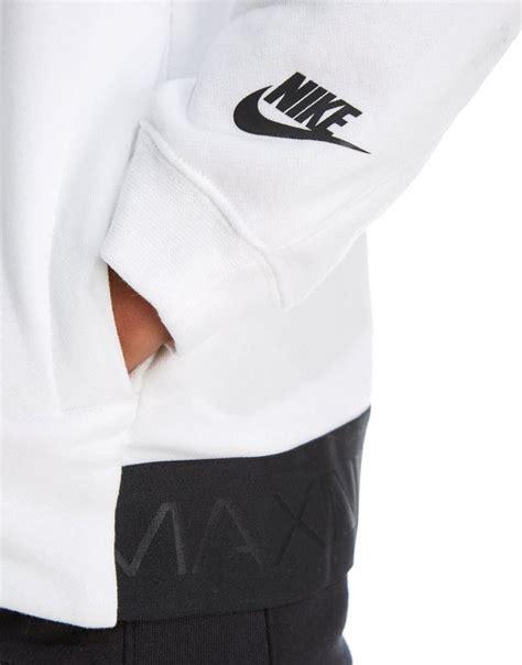 Hoodie Basket Nike Air Sleeve Hitam nike air max hoodie junior jd sports