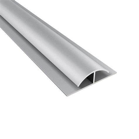 4 ft large profile divider trim in argent silver 179 09