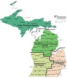 Michigan Public Land Map by Dnr Private Lands Program