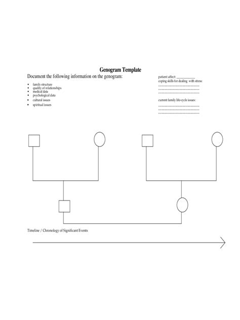 genogram template 7 free templates in pdf word excel