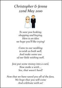 poem for wedding invite no gifts wedding money poems x 75 many designs vintage wedding stationery scotland modern wedding