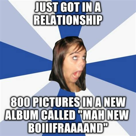 Annoying Facebook Girl Meme - 5 things people are too enthusiastic about vanity claire