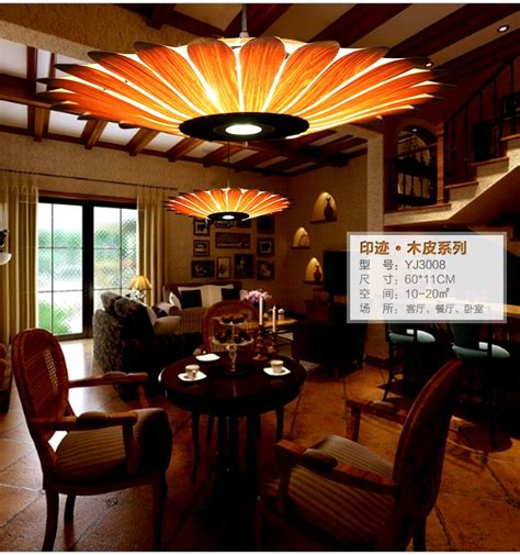 bamboo living room lights restaurant lamp chinese style