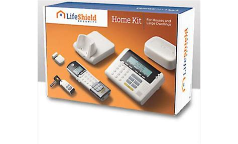 lifeshield home alarm kit wireless home security system