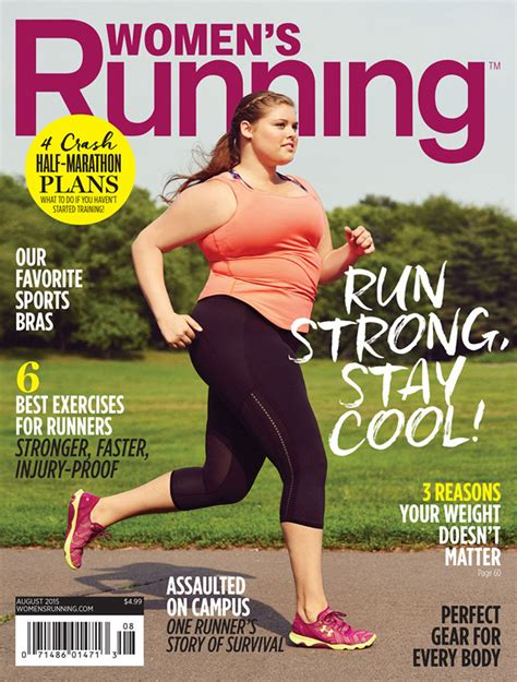 Models On Covers Fanatics Rejoice by This Plus Size S Fitness Mag Cover Is The Most