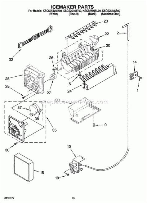 kitchenaid superba refrigerator parts diagram kitchenaid superba refrigerator parts diagram automotive