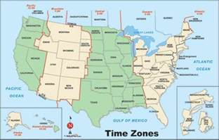 map usa time zone map travel holidaymapq