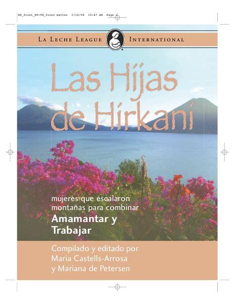 libro las hijas de alfonso las hijas de hirkani libro