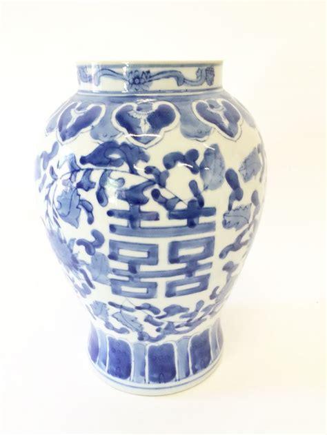 Vintage Blue White Ginger Jar Pkl The Cellar Blue