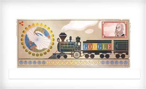 doodle walkthrough 190 pays tribute to sandford fleming on his 190th birthday